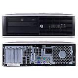 Системний блок HP Compaq 8200 Elite SFF-Intel Core-i3-2120-3,30GHz-4Gb-DDR3-HDD-320Gb-DVD-R-W7P- Б/В, фото 3