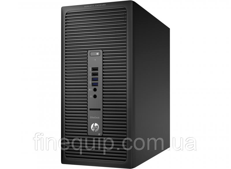 Системный блок HP EliteDesk 705 G1-Minitower-AMD A4 Pro-7300B-3,8GHz-4Gb-DDR3-HDD-500Gb-DVD-RW- Б/У