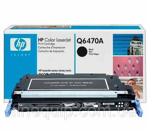 КАРТРИДЖ ОРИГИНАЛЬНЫЙ HP Q6470A (Новый)