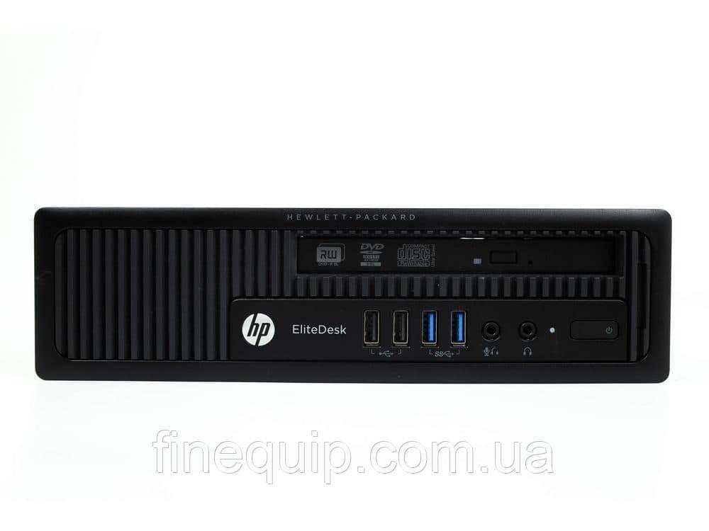 Системний блок HP EliteDesk 800 G1 USDT-Intel Core-i3-4130-3,4GHz-4Gb-DDR3-HDD-500Gb-DVD-R- Б/В