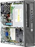 Системний блок HP EliteDesk 800 G1 USDT-Intel Core-i3-4130-3,4GHz-4Gb-DDR3-HDD-500Gb-DVD-R- Б/В, фото 2