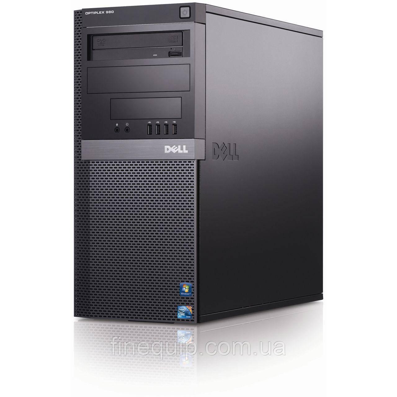 Системный блок Dell 980 Full-Tower-Intel-Core-i5-650-3.20GHz-8Gb-DDR3-HDD-500Gb-DVD-R- Б/У