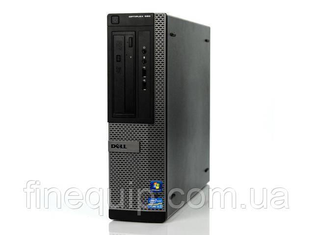 Системний блок Dell Optiplex 390-DT-Intel Core-i3-2120-3.3GHz-4Gb-DDR3-HDD-250Gb-DVD-RW- Б/В