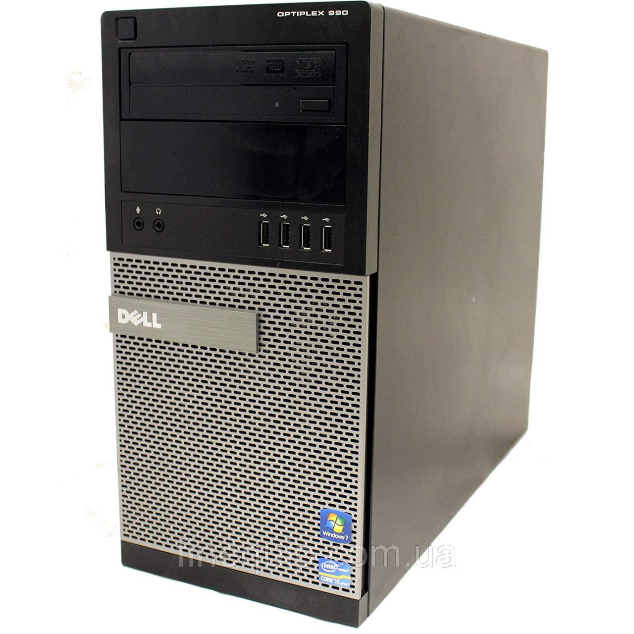Системный блок Dell Optiplex 990 MiniTower-Intel Core-i5-2400-3,10GHz-8Gb-DDR3-HDD-500Gb- Б/У