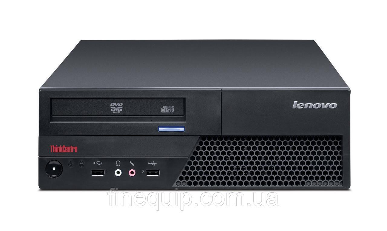 Системний блок Lenovo ThinkCentre M58p SFF-C2D-E7500-2,93GHz-2Gb-DDR3-HDD-160Gb-DVD-R- Б/В