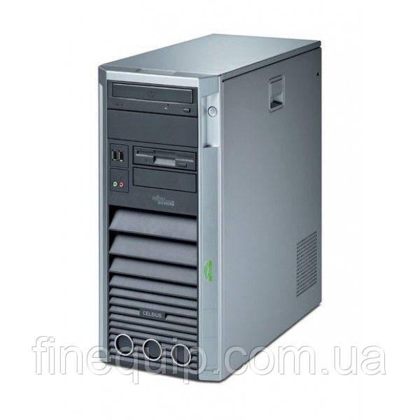Системний блок Fujitsu CELSIUS W360-Intel-C2D-E6550-2,33GHz-2Gb-DDR2-HDD-500Gb-DVD-R- Б/В