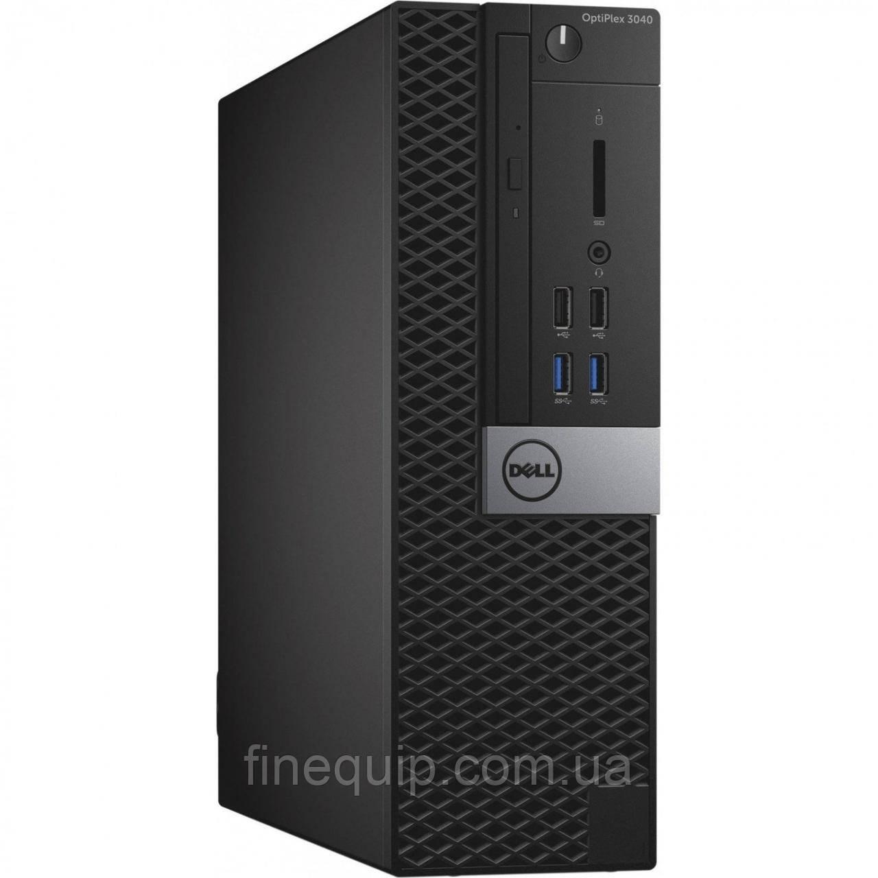 Системний блок Dell Dell Optiplex 3040 SFF-Intel Core-i5-6500-3.2GHz-8Gb-DDR3-HDD-500Gb-DVD-RW-(B)- Б/У