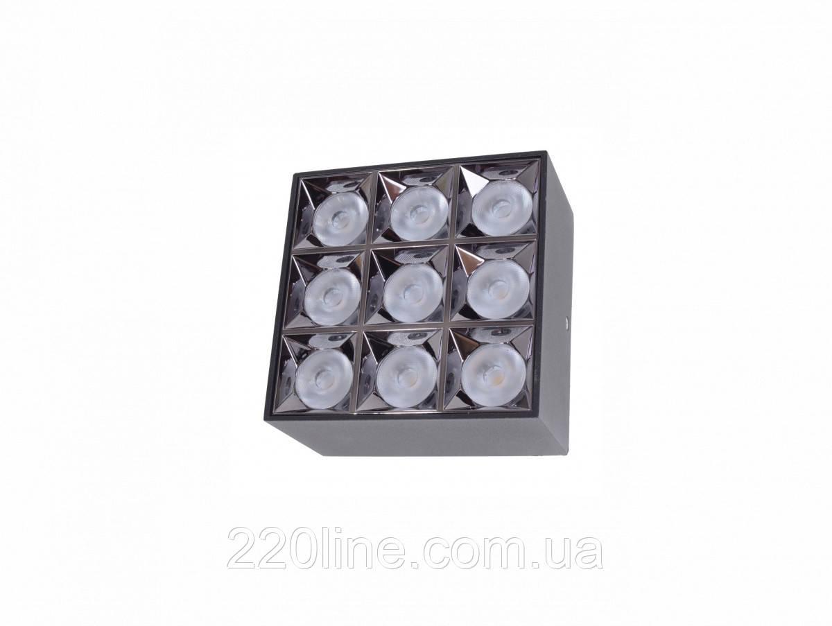 Светильник накладной HDL-DT 205/8*5W NW BK