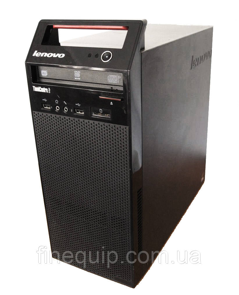 Системный блок Lenovo ThinkCentre E72-Mini-Tower-Intel Core i3-3220-3,3GHz-4Gb-DDR3-HDD-500GB-DVD-RW