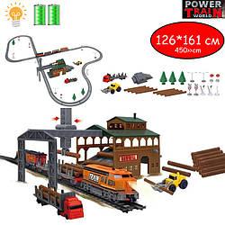 """Детская железная дорога - лесопилка"""" - Maya Toys (2083)"""