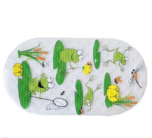 """Дитячий килимок для ванної """"Жабенята"""" №0900"""