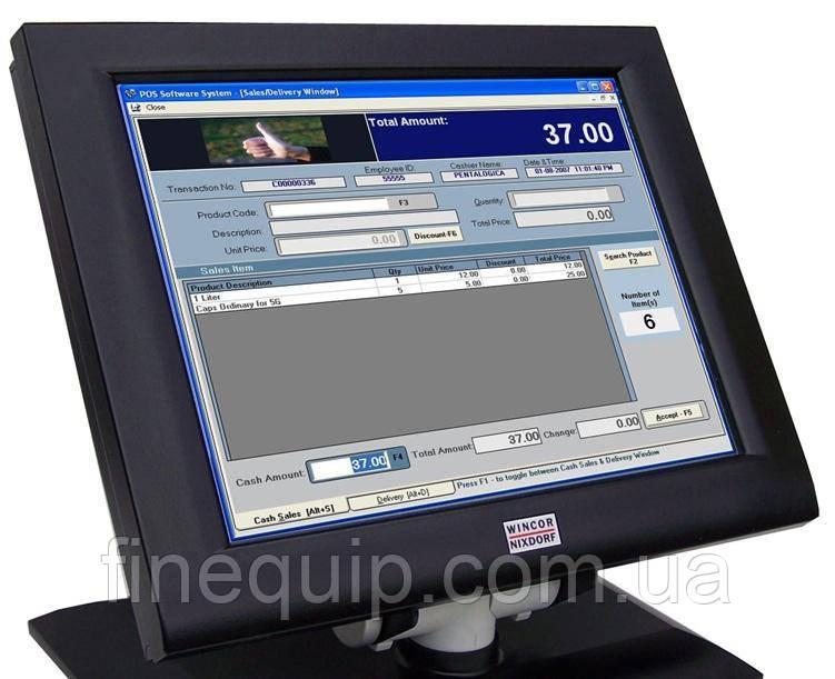 POS Монітор Wincor Nixdorf BA72A 2c touch/12,1/800x600/RGB-(A)-Б/В