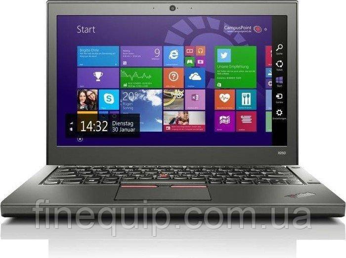 Ноутбук Lenovo ThinkPad X250-Intel-Core-i5-5300U-2,3GHz-8Gb-DDR3-128Gb-SSD-W12.5-Web+батерея-(C)- Б/У
