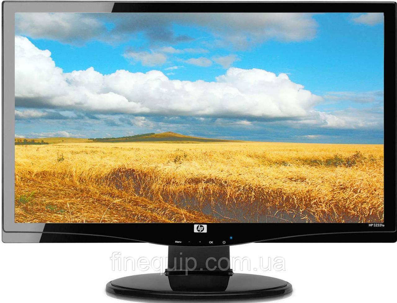 """Монітор 23"""" HP S2331a 1920*1080 TN+film- (подряпини та підсівший екран) УЦЕНКА- Б/В"""