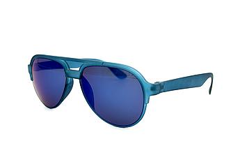 Солнцезащитные очки зелено-синий унисекс
