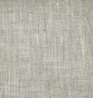 Лен натуральный светло-серый 100/75 см