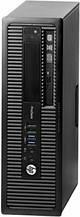 Системний блок HP ProDesk 600 G1 SFF-Intel Core-i3-4130-3,4GHz-4Gb-DDR3-HDD-500Gb-DVD-RW-W7P- Б/В