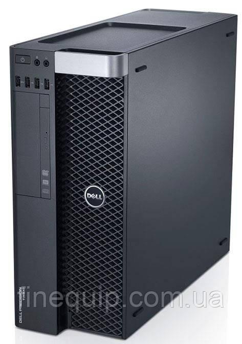Системний блок Dell Precision T3610- Intel Xeon E5-1607v2-3.0GHz-16Gb-DDR3-SSD-256Gb-DVD-R+Nvidia Quadro K600