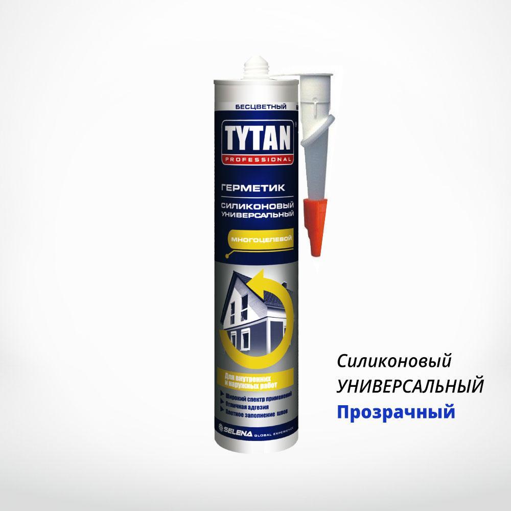Силіконовий герметик TYTAN PROFESSIONAL універсальний прозорий, купити в Києві