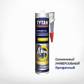 Силиконовый герметик TYTAN PROFESSIONAL универсальный прозрачный, купить в Киеве