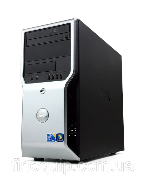 Системний блок Dell Precision T1500 -Intel Core i7-870-2,93GHz-8Gb-DDR3-320Gb-HDD-NVIDIA Quadro FX 580- Б/В