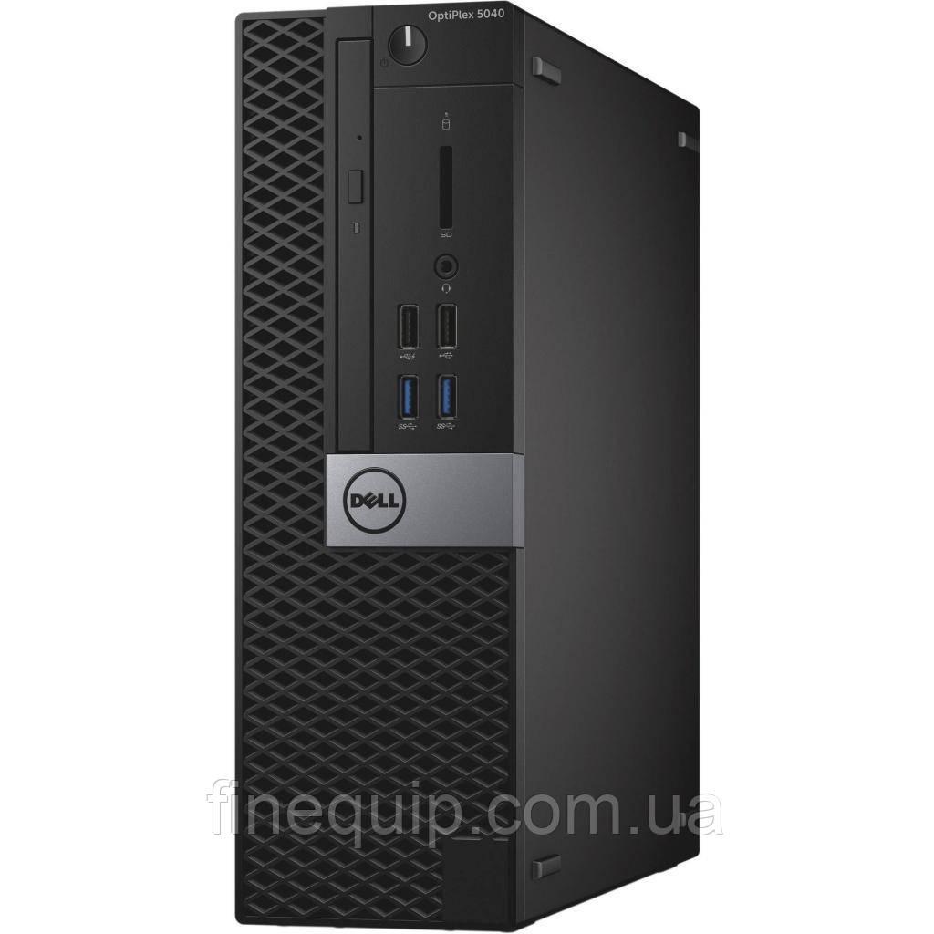 Системный блок Dell Optiplex 5040-SFF-Intel Core-i3-6100-3,70GHz-8Gb-DDR3-SSD-128Gb-DVD-R- Б/У