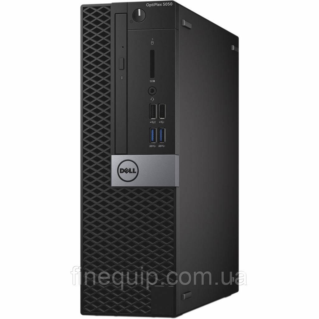 Системний блок Dell Optiplex 5050-SFF-Intel Core-i3-6100-3,70GHz-8Gb-DDR4-SSD-128Gb-DVD-R- Б/В