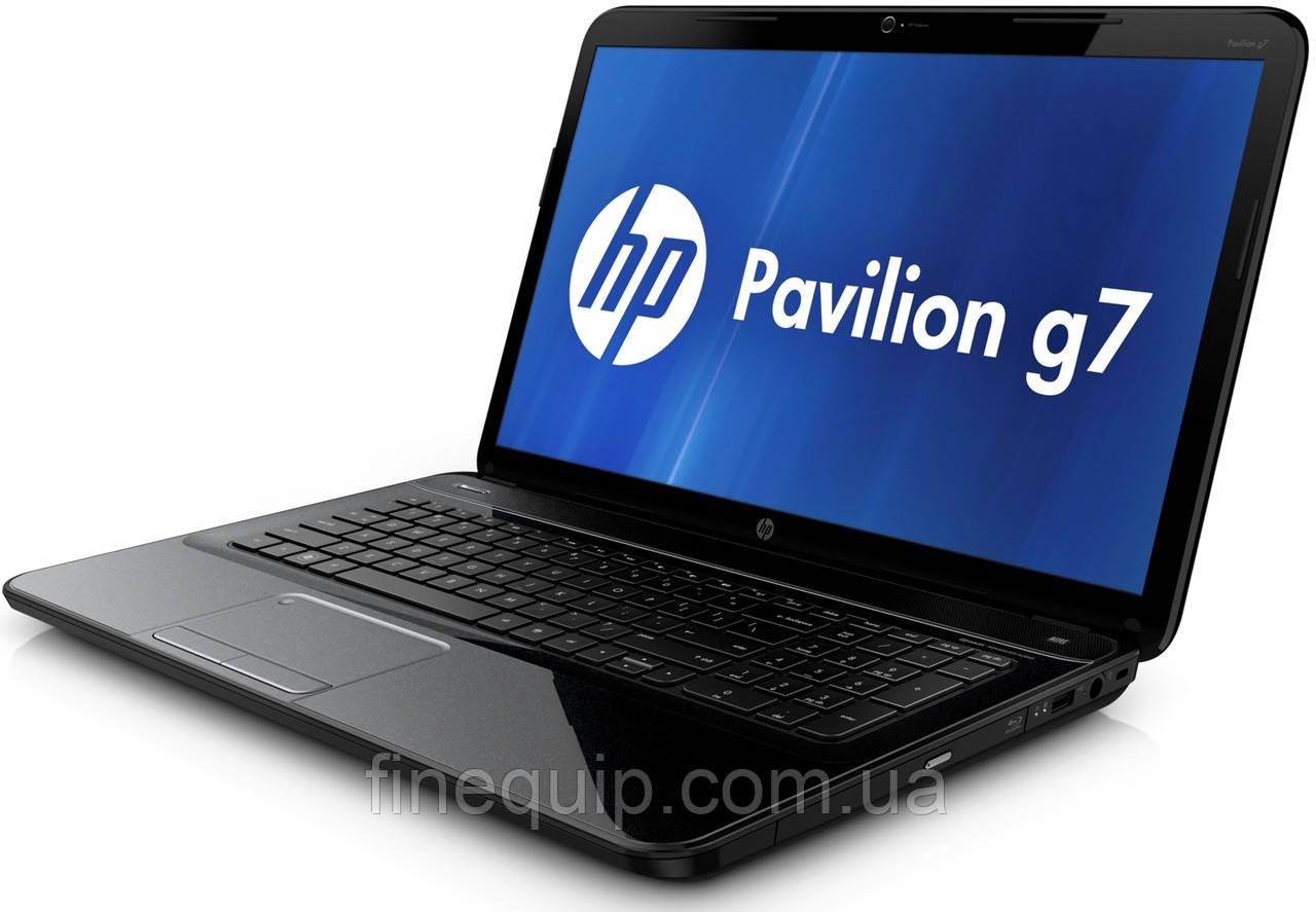 Ноутбук HP Pavilion G7-2355so-AMD A6-4400M-2.7GHz-4Gb-DDR3-320Gb-HDD-W17.3-Web-DVD-R-AMD Radeon HD 7670M-(B)-
