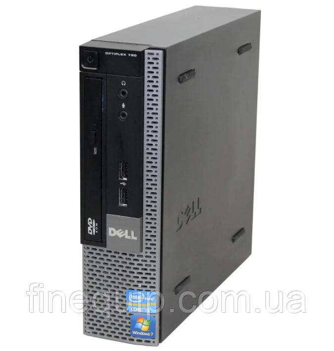 Системний блок Dell OptiPlex 790 USFF-Intel Core i3-2120-3,3GHz-4Gb-DDR3-HDD-320Gb-DVD-R-(B)- Б/У