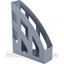 Лоток пластиковый вертикальный, JOBMAX, серый