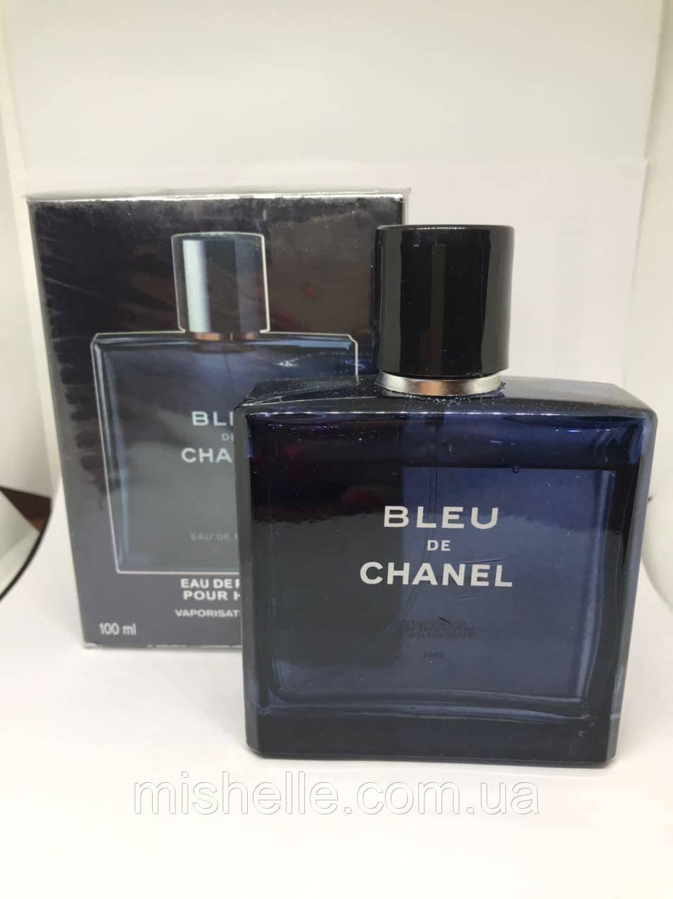 Чоловічий парфум Шанель Блю Де Шанель де парфум (репліка) Уцінки, недолив 10%