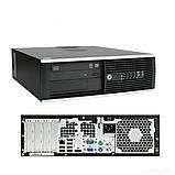 Системний блок HP Compaq 6200 Pro SFF-Intel Core-i3-2120-3,30GHz-4Gb-DDR3-HDD-250Gb-DVD-R-W7P-(B)- Б/В, фото 2