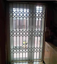 Дверная раздвижная решетка для дома