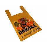 Пакет майка 28*50 Пчёлка 100шт/уп