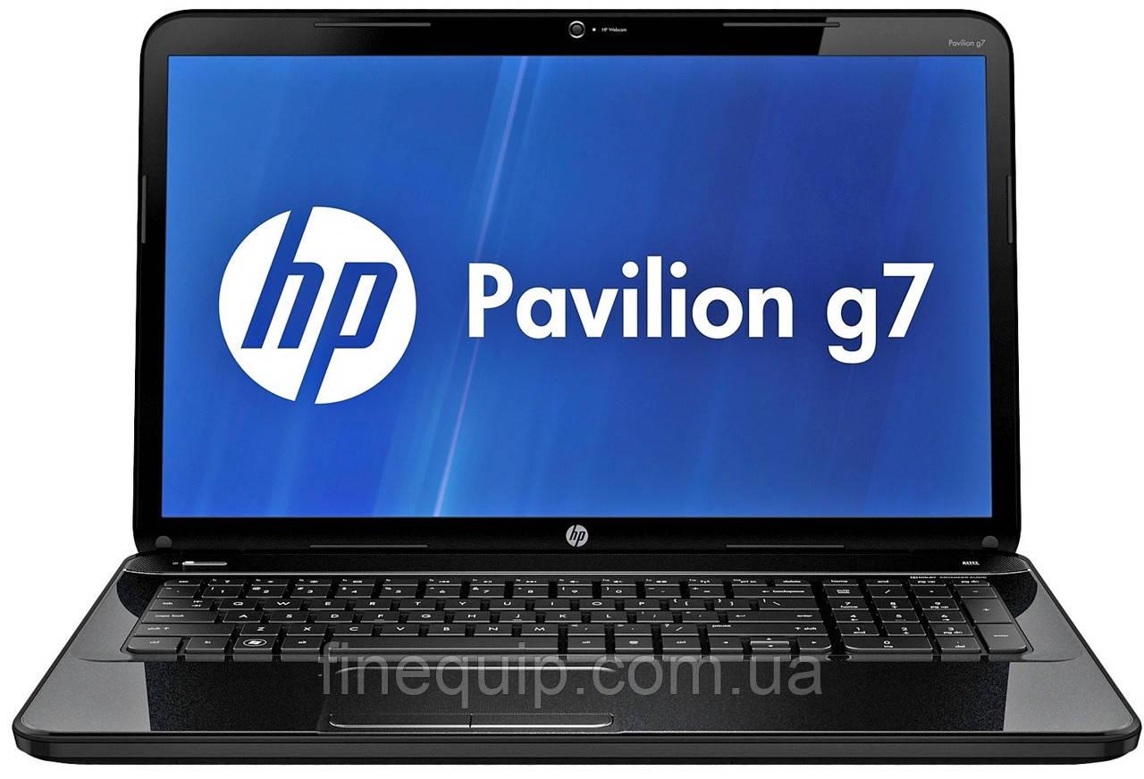 Ноутбук HP Pavilion G7-2128so-AMD A6-4400M-2.7GHz-4Gb-DDR3-320Gb-HDD-W17.3-Web-DVD-R-(B-)- Б/У