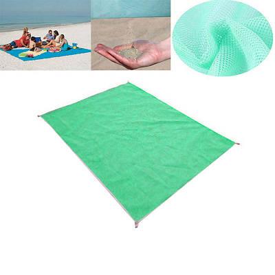 Подстилка для моря Песок 200 х 200 анти-песок Sand Free зеленый 149166