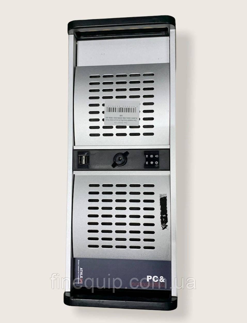 Системний блок-Rack mount-Intel Core i5-2500-3.3GHz-8Gb-DDR3-SSD-128Gb-(B)- Б/В