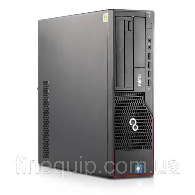 Системный блок Fujitsu ESPRIMO E700-DT-Intel Core-i5-2400-3,1GHz-4Gb-DDR3-HDD-320Gb-(B)- Б/У