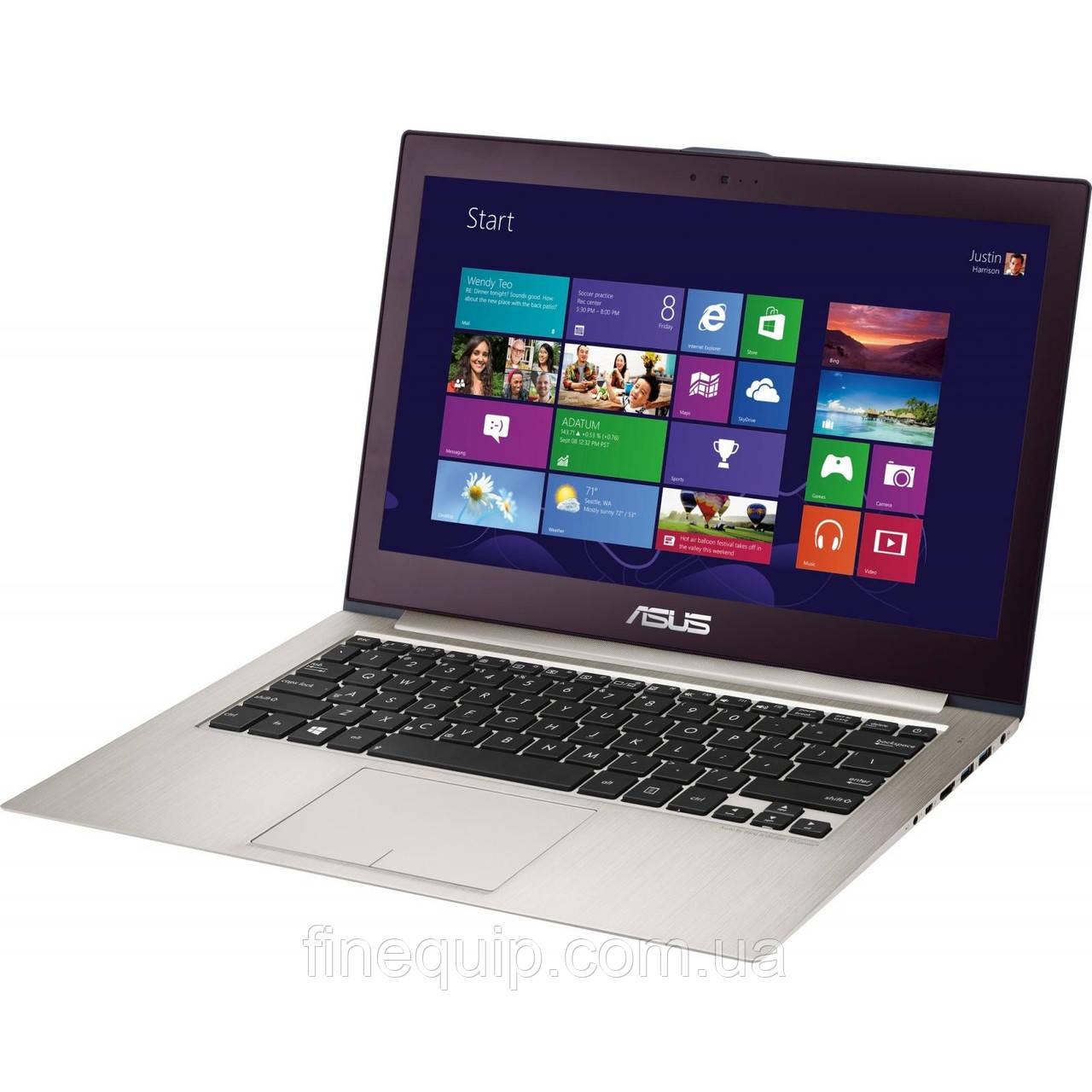 Ноутбук ASUS UX32A-Intel Core i5-3317U-1.7GHz-6Gb-DDR3-320Gb-HDD-32Gb-SSD-W13.3-Web-(B-)- Б/У