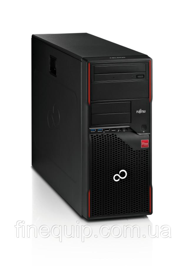 Системний блок Fujitsu CELSIUS W420 FT-Intel Core i5-3470-3,20GHz-8Gb-DDR3-HDD-500Gb-DVD-R-(B)- Б/В