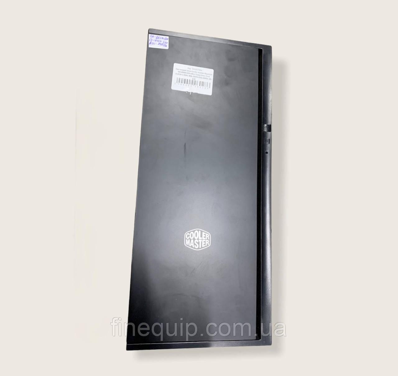 Системний блок-Cooler master-Gigabyte GA-B85M-D3H-Mini-Tower-Intel Core i3-4150-3,5GHz-8Gb-DDR3-SSD-250Gb-(B)-