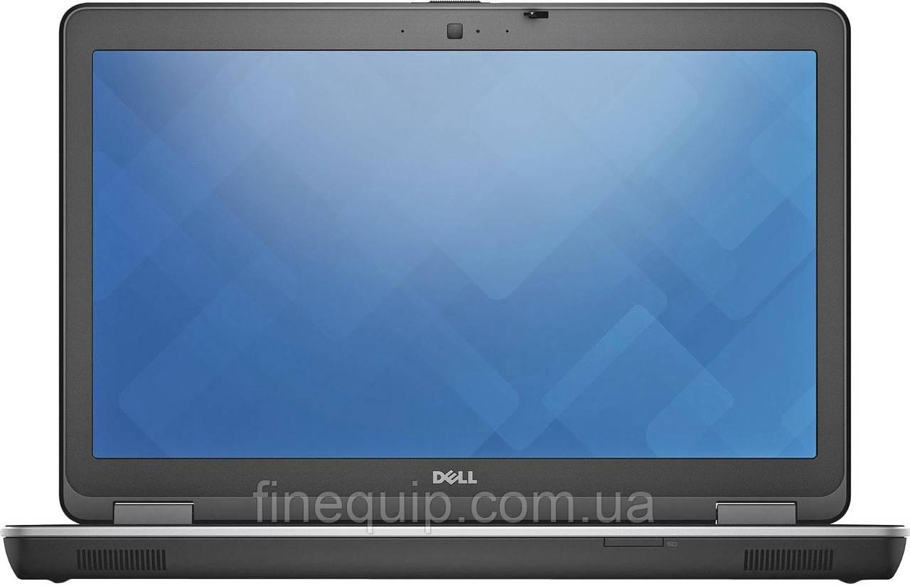 Ноутбук Dell Latitude E6540-Intel Core I5-4210M-2,60GHz-4Gb-DDR3-320Gb-HDD-W15.6-FHD-Web-(C-)- Б/У
