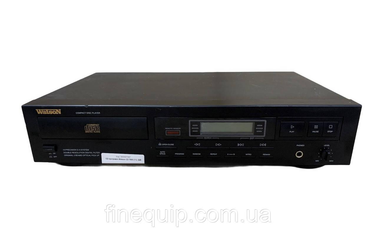 CD програвач Watson CD 7650 (11) -Б/В