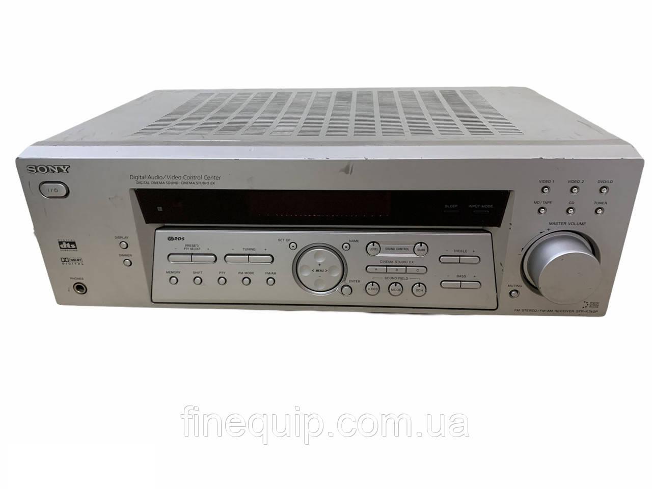 Ресивер для домашнего кинотеатра sony STR-K740P -Б/У