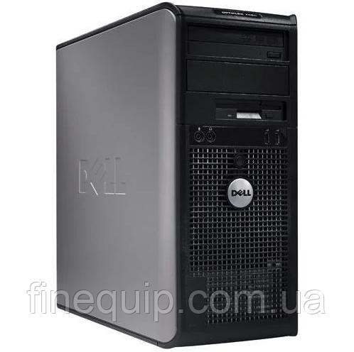 Системний блок Dell OptiPlex 330 MiniTower-Intel Pentium-E2180-2.00 GHz-4Gb-DDR2-HDD-160Gb DVD-R-(B)- Б/У