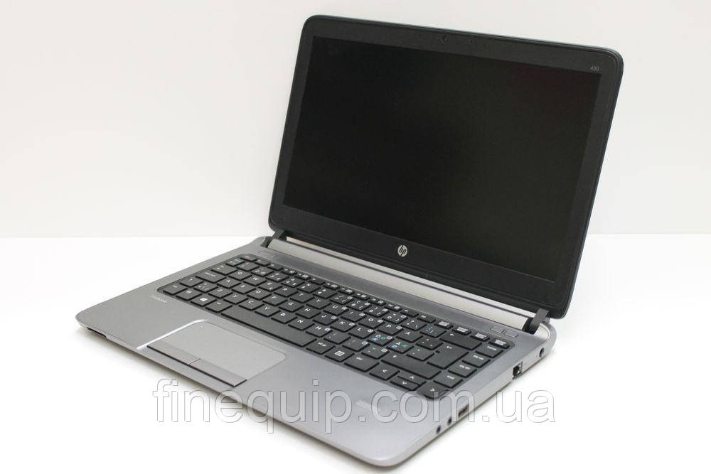 Ноутбук HP ProBook 430 G1- Intel-Core-i3-4005U-1,70GHz-4Gb-DDR3-500Gb-HDD-W13.3-Web-(B-)- Б/В