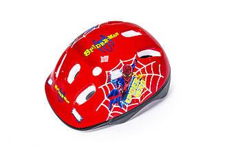Защитный Детский Шлем Спайдермен Красный