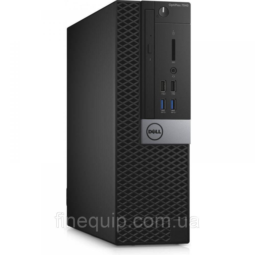 Системний блок Dell Optiplex 7040-SFF-Intel Core-i5-6500-3,20GHz-4Gb-DDR4-HDD-500Gb-DVD-R-(B)- Б/У
