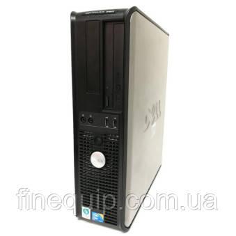 Системний блок Dell OptiPlex 380-Desktop-Intel Celeron E1500-2.2 GHz-4Gb-DDR3 HDD-80Gb-DVD-R-(B)- Б/У