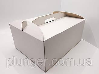 Коробка картонна для торта 31 см х 41 см х 18 см (30Т)